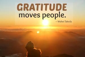 free daily gratitude list