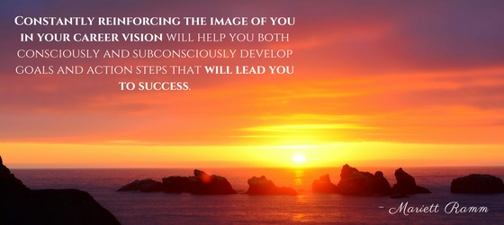 reinforce your image to reach your life purpose
